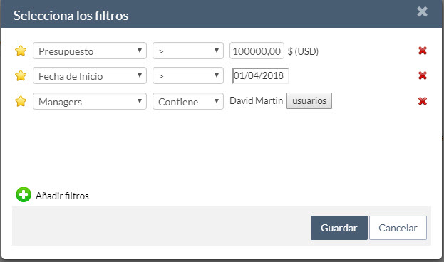 filtros de autorización - ITM Platform